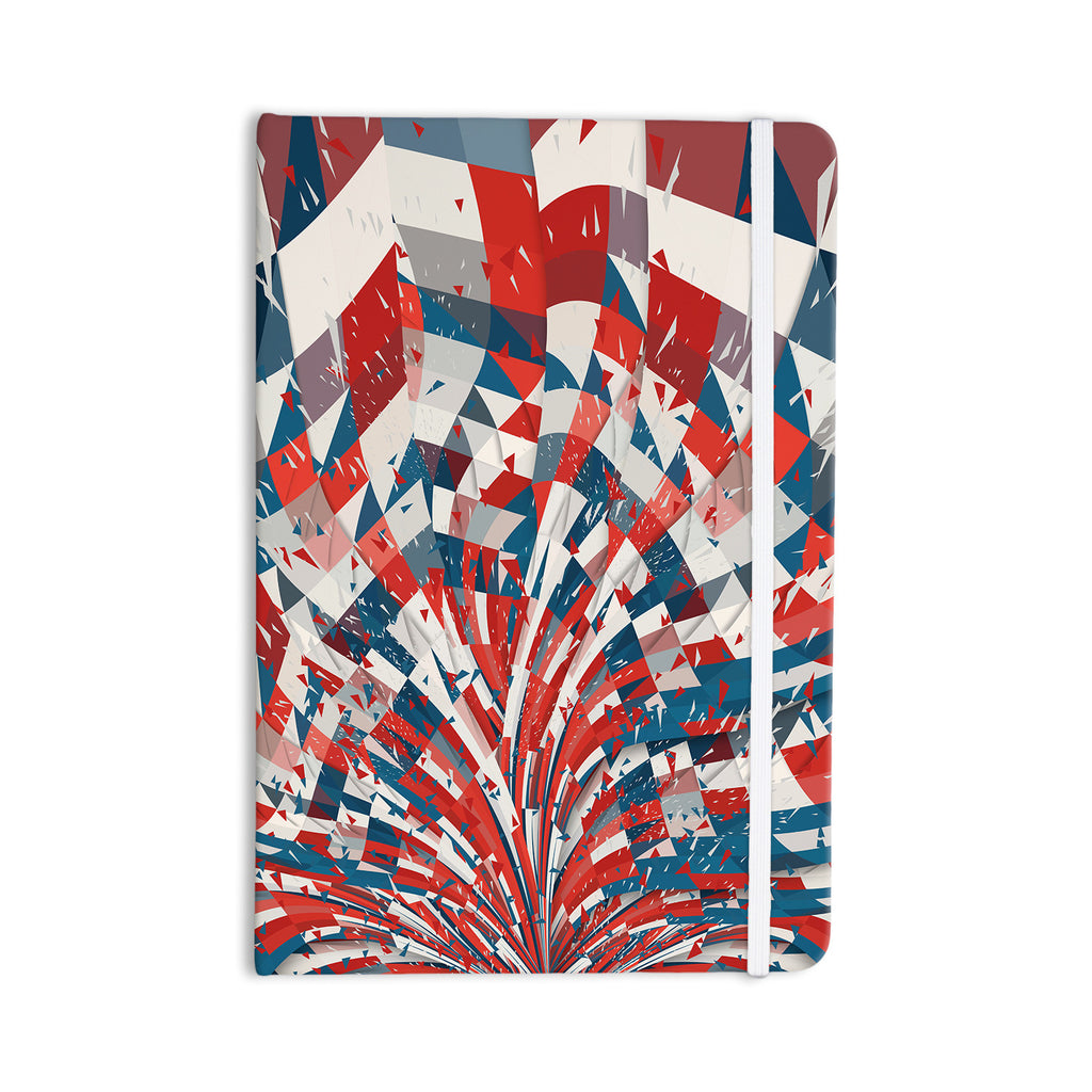 "Danny Ivan ""Feel Again"" Blue Red Everything Notebook - KESS InHouse  - 1"