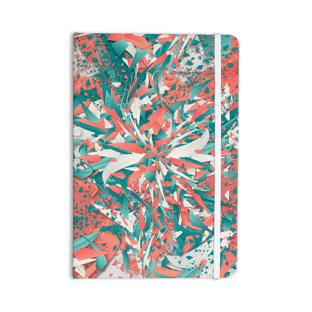 "Danny Ivan ""Like Explosion"" Pink Teal Everything Notebook - KESS InHouse  - 1"