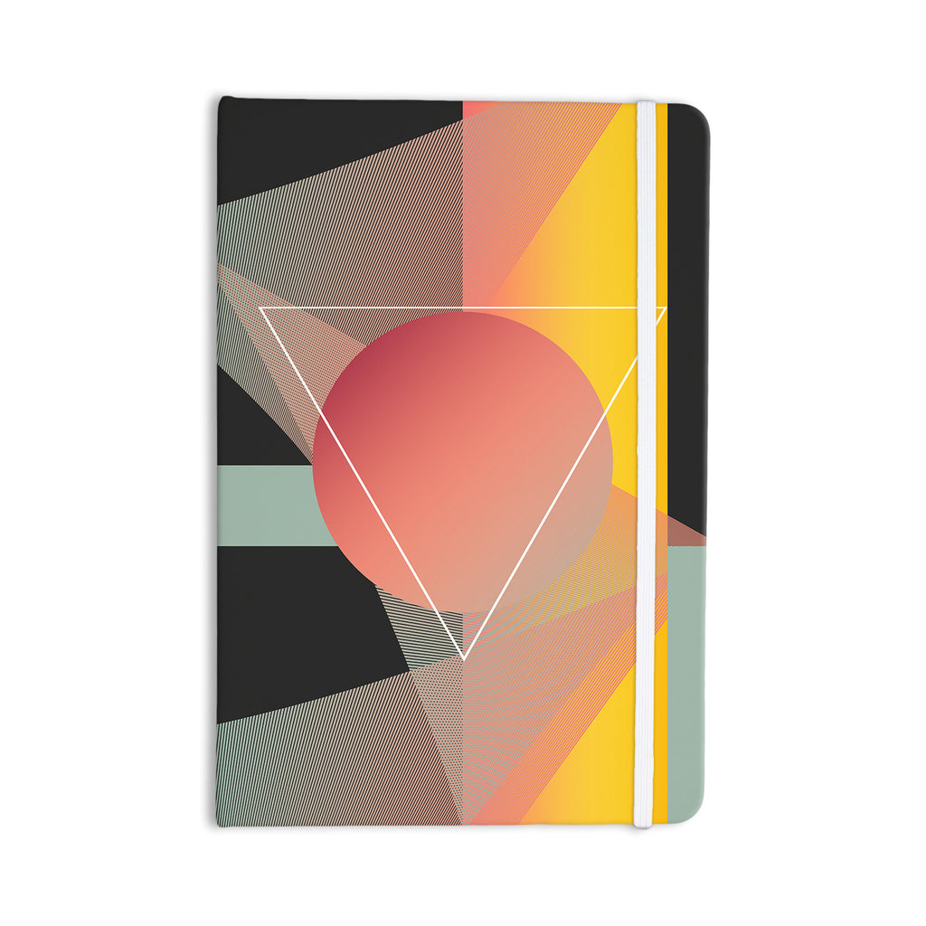 "Danny Ivan ""Objectum"" Pink Abstract Everything Notebook - KESS InHouse  - 1"