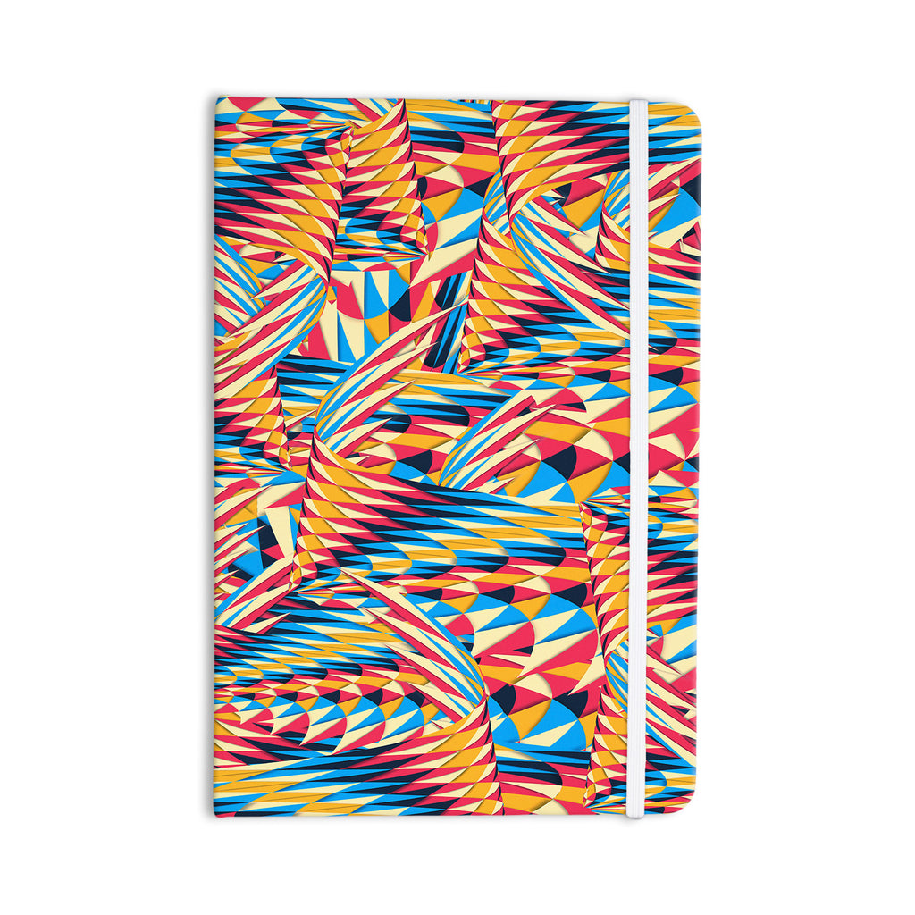 "Danny Ivan ""Painting Life"" Abstract Everything Notebook - KESS InHouse  - 1"