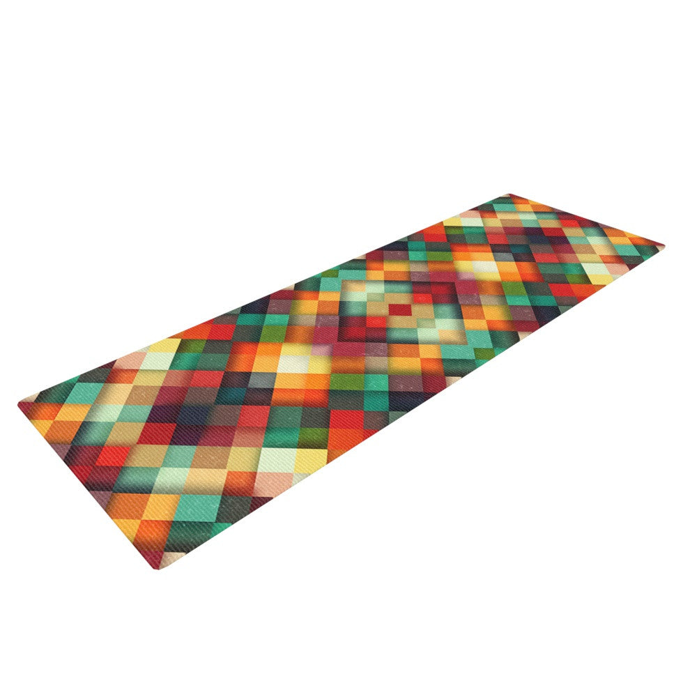 "Danny Ivan ""Time Between"" Geometric Abstract Yoga Mat - KESS InHouse  - 1"
