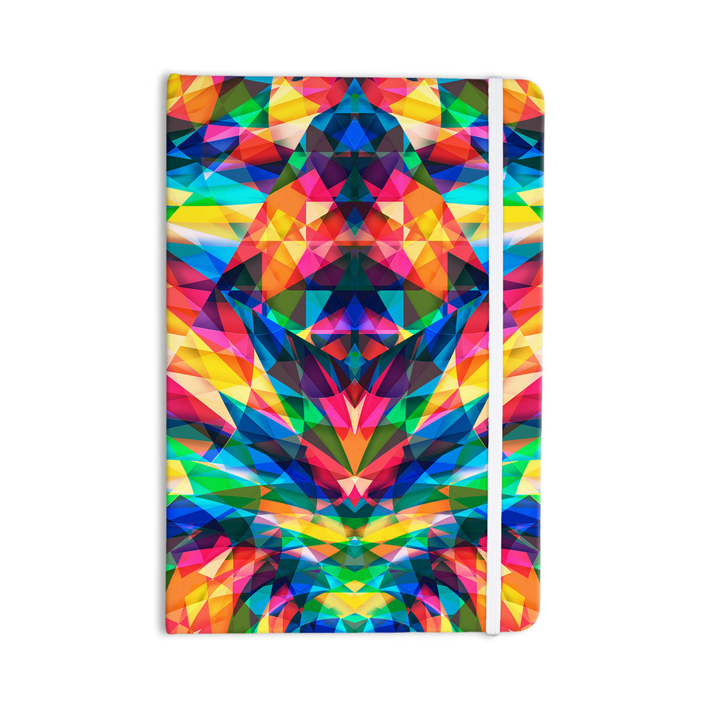 "Danny Ivan ""Day We Met"" Rainbow Geometric Everything Notebook - KESS InHouse  - 1"