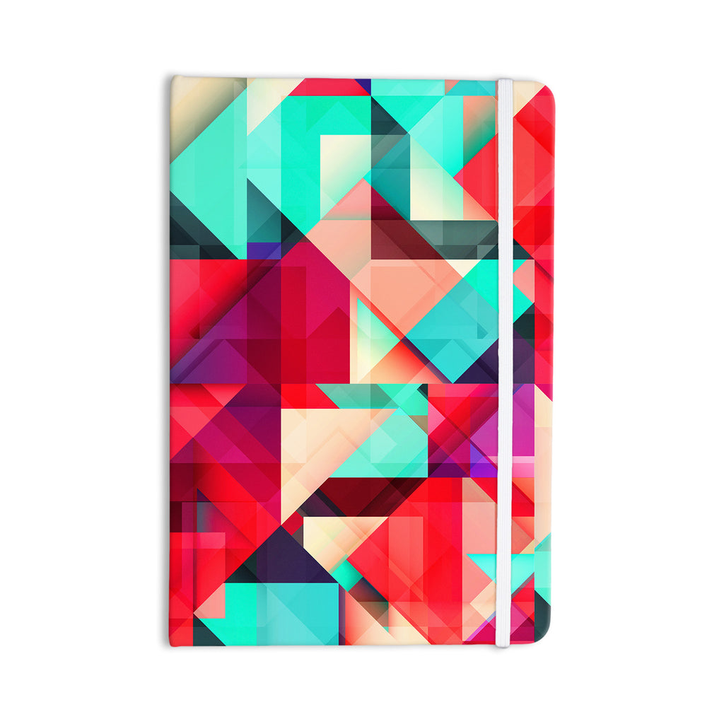 "Danny Ivan ""Still New"" Red Pink Everything Notebook - KESS InHouse  - 1"