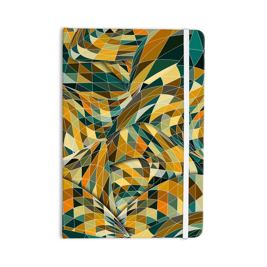 "Danny Ivan ""Bring You Back"" Yellow Teal Everything Notebook - KESS InHouse  - 1"