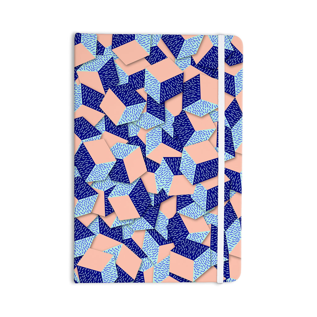 "Danny Ivan ""Friend of the Unknown"" Aqua Blue Everything Notebook - KESS InHouse  - 1"