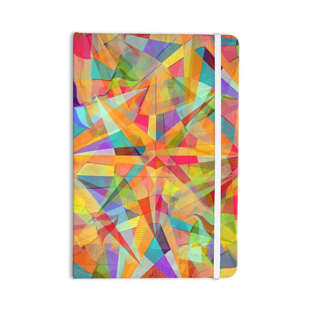 "Danny Ivan ""Star"" Geometric Multicolor Everything Notebook - KESS InHouse  - 1"