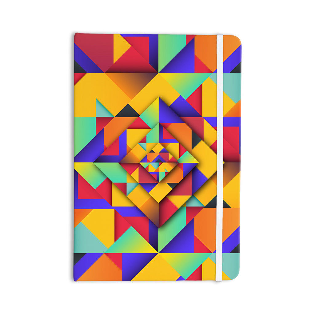"Danny Ivan ""Shapes II"" Geometric Everything Notebook - KESS InHouse  - 1"