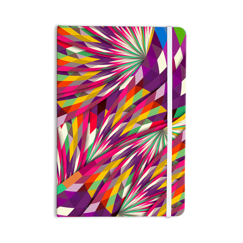 "Danny Ivan ""Sweet"" Multicolor Geometric Everything Notebook - KESS InHouse  - 1"