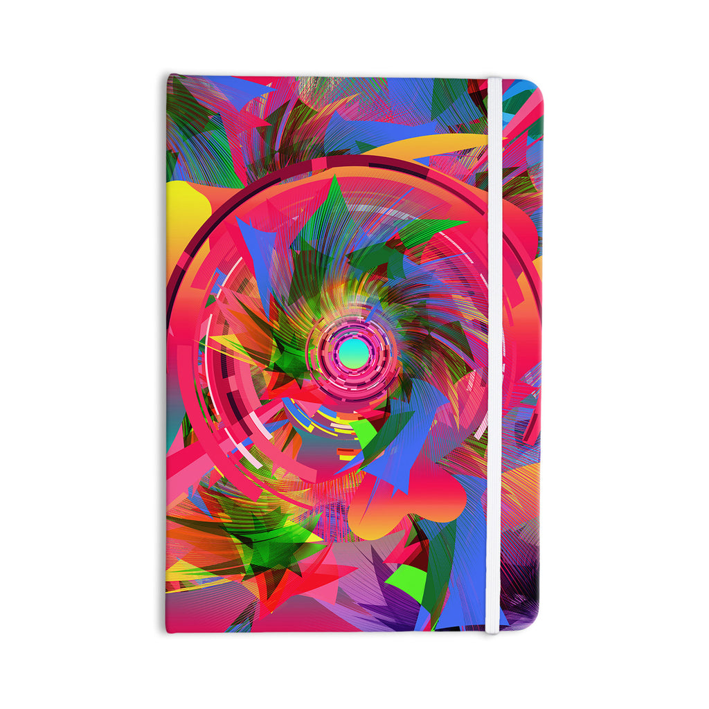 "Danny Ivan ""Fun Hole"" Pink Multicolor Everything Notebook - KESS InHouse  - 1"