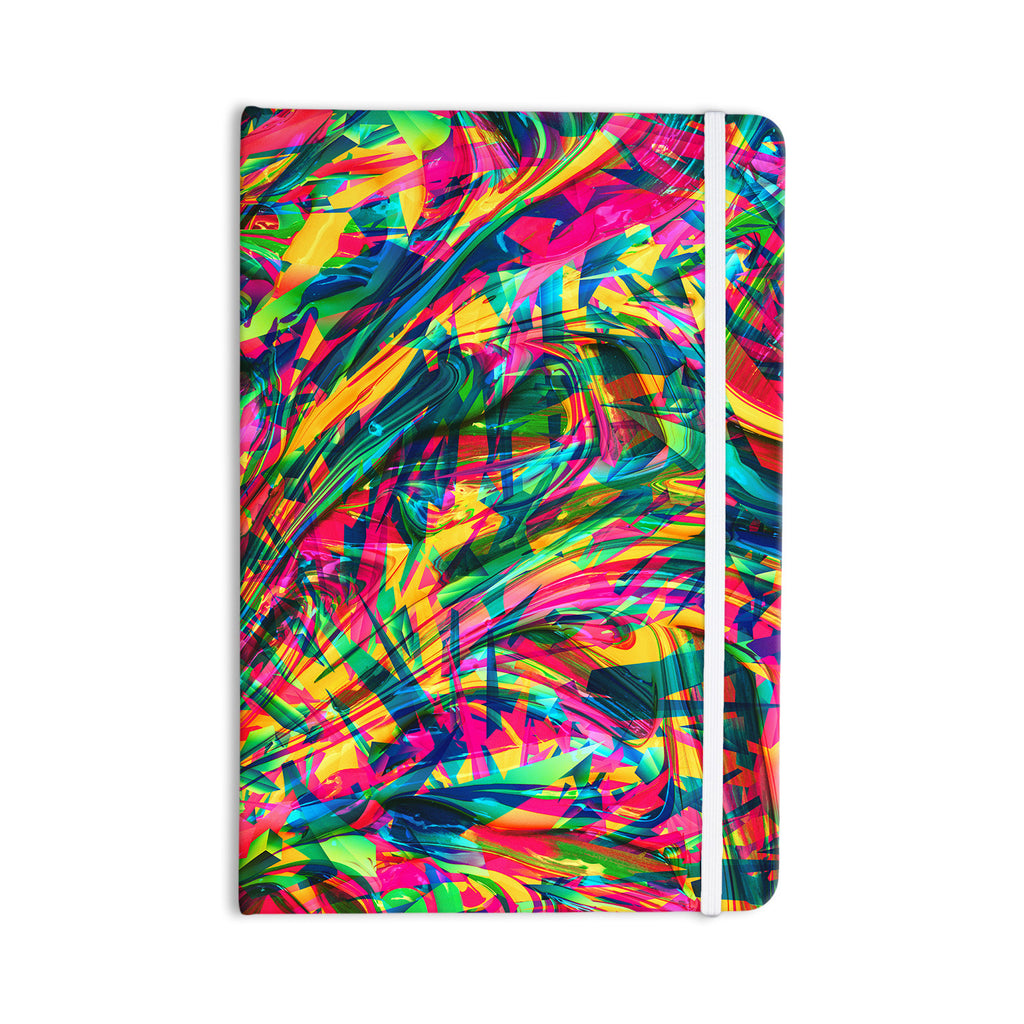 "Danny Ivan ""Wild Abstract"" Rainbow Illustration Everything Notebook - KESS InHouse  - 1"