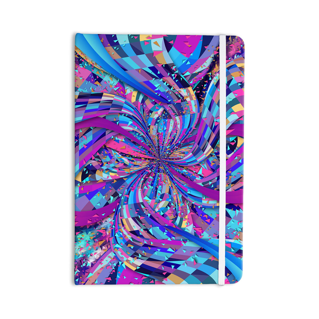 "Danny Ivan ""Flavours Explosion"" Purple Blue Everything Notebook - KESS InHouse  - 1"