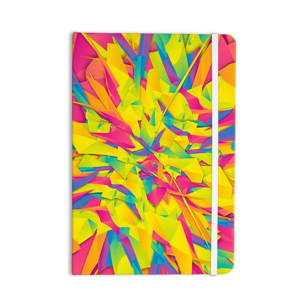"Danny Ivan ""Bubble Gum Explosion"" Pink Yellow Everything Notebook - KESS InHouse  - 1"