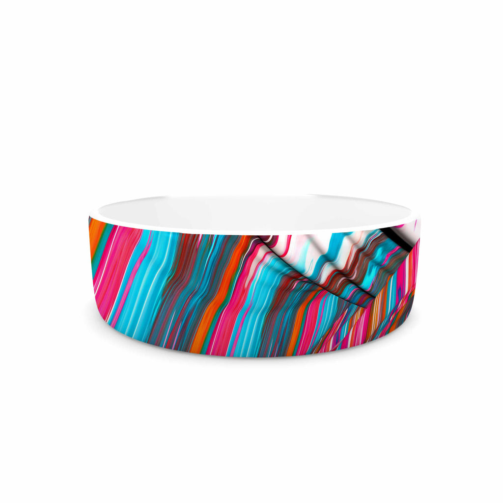 "Danny Ivan ""Long Live"" Blue Magenta Pet Bowl - KESS InHouse"