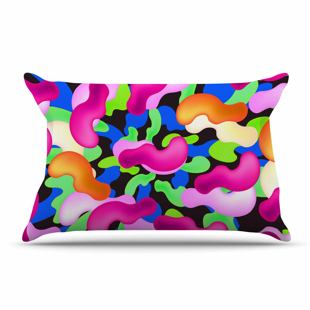 "Danny Ivan ""Thing"" Purple Pink Pillow Sham - KESS InHouse"