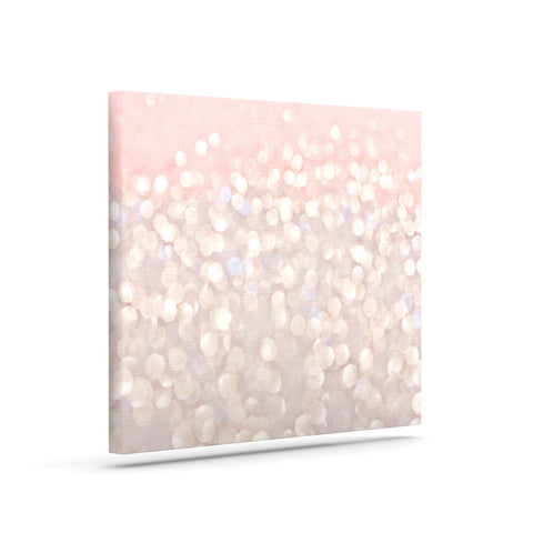 "Debbra Obertanec ""Magical"" Pink Glitter Art Canvas - Outlet Item"