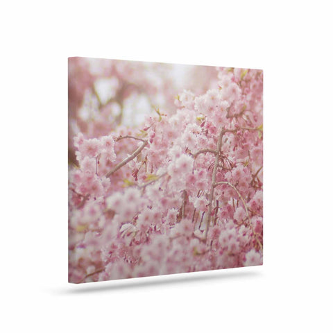 "Debbra Obertanec ""Spring Pinks"" Floral Digital Canvas Art - Outlet Item"