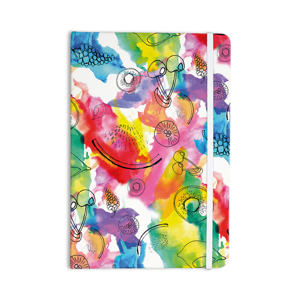 "Danii Pollehn ""Fruits"" Rainbow Everything Notebook - KESS InHouse  - 1"