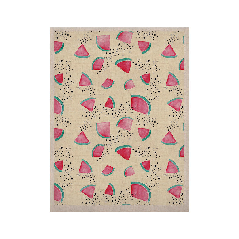 "Danii Pollehn ""Watermelon"" Food KESS Naturals Canvas (Frame not Included) - KESS InHouse  - 1"