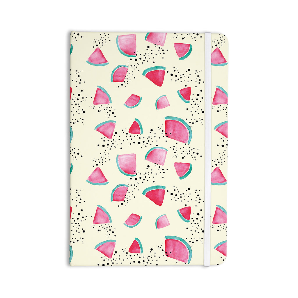 "Danii Pollehn ""Watermelon"" Food Everything Notebook - KESS InHouse  - 1"