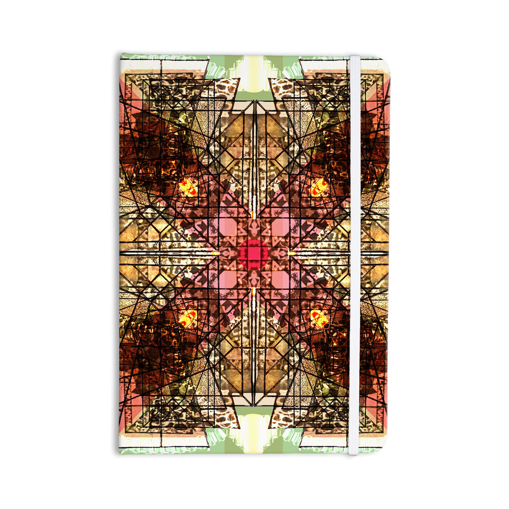 "Danii Pollehn ""Viereck"" Geometric Everything Notebook - KESS InHouse  - 1"