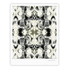 "Dawid Roc ""THe Palace Walls III"" White Abstract Fine Art Gallery Print - KESS InHouse"