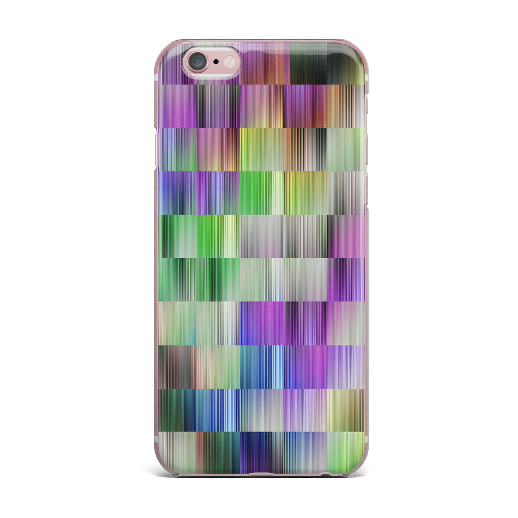 "Dawid Roc ""Sweet Pastel Lines 3"" Multicolor Magenta iPhone Case - KESS InHouse"
