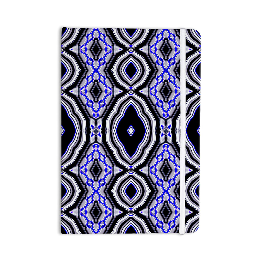 "Dawid Roc ""Inspired By Psychedelic Art 3"" Purple Abstract Everything Notebook - KESS InHouse  - 1"