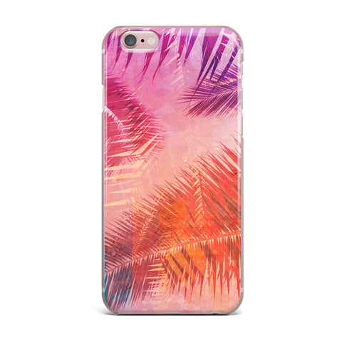 "Cafelab ""Pop Tropical"" Purple Pink Abstract iPhone Case"