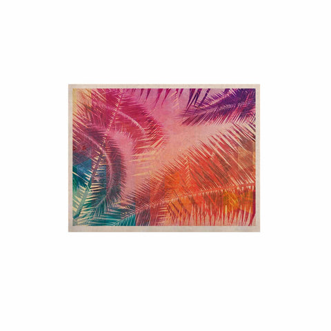 "Cafelab ""Pop Tropical"" Purple Pink Abstract KESS Naturals Canvas (Frame not Included) - KESS InHouse  - 1"