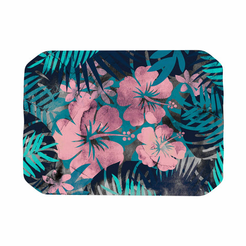 "Cafelab ""Tropical Style"" Green Pink Illustration Place Mat"