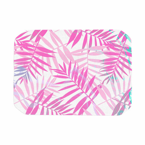 "Cafelab ""Pastel Palm Leaves"" Pink Purple Illustration Place Mat"