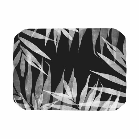 "Cafelab ""BW Tropicana Theme"" Black White Illustration Place Mat"