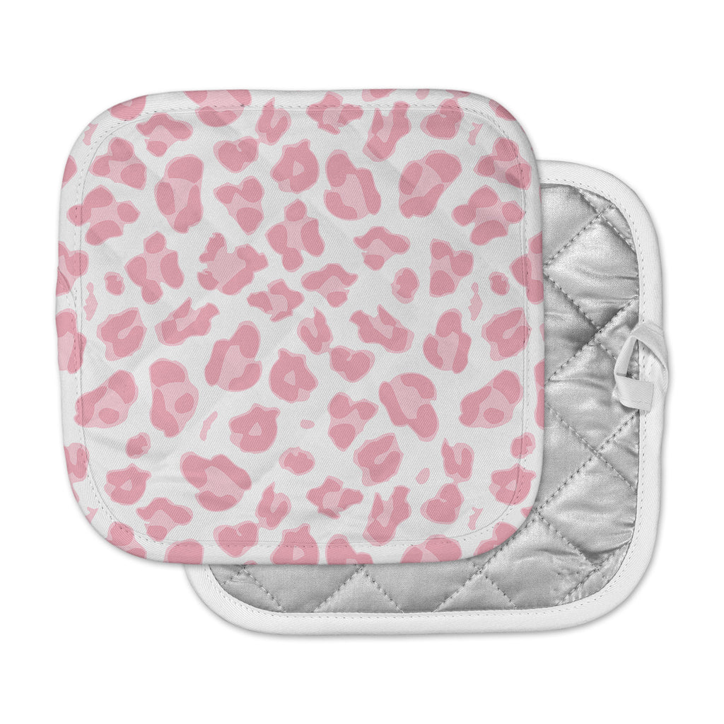 "Wildlife ""Pink Animal Print 2"" Pink Digital Pot Holder"