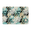 "Akwaflorell ""Dead's Head Party"" Memory Foam Bath Mat - KESS InHouse"
