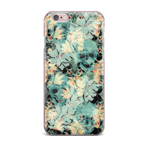 "Akwaflorell ""Dead's Head Party"" iPhone Case - KESS InHouse"
