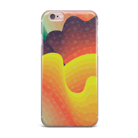 "Akwaflorell ""Waves Waves"" iPhone Case - KESS InHouse"