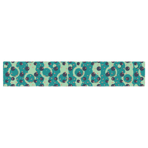 "Akwaflorell ""Bubbles Made of Paper"" Table Runner - KESS InHouse"