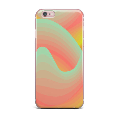 "Akwaflorell ""Way of the Waves"" iPhone Case - KESS InHouse"