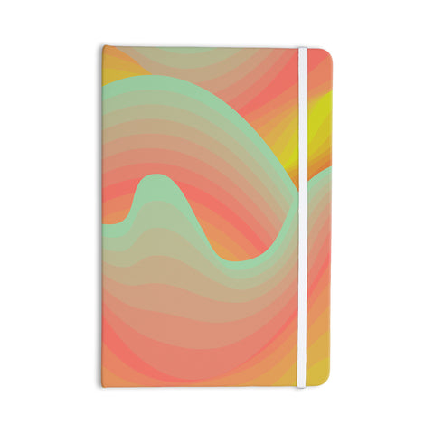 "Akwaflorell ""Way of the Waves"" Everything Notebook - KESS InHouse  - 1"