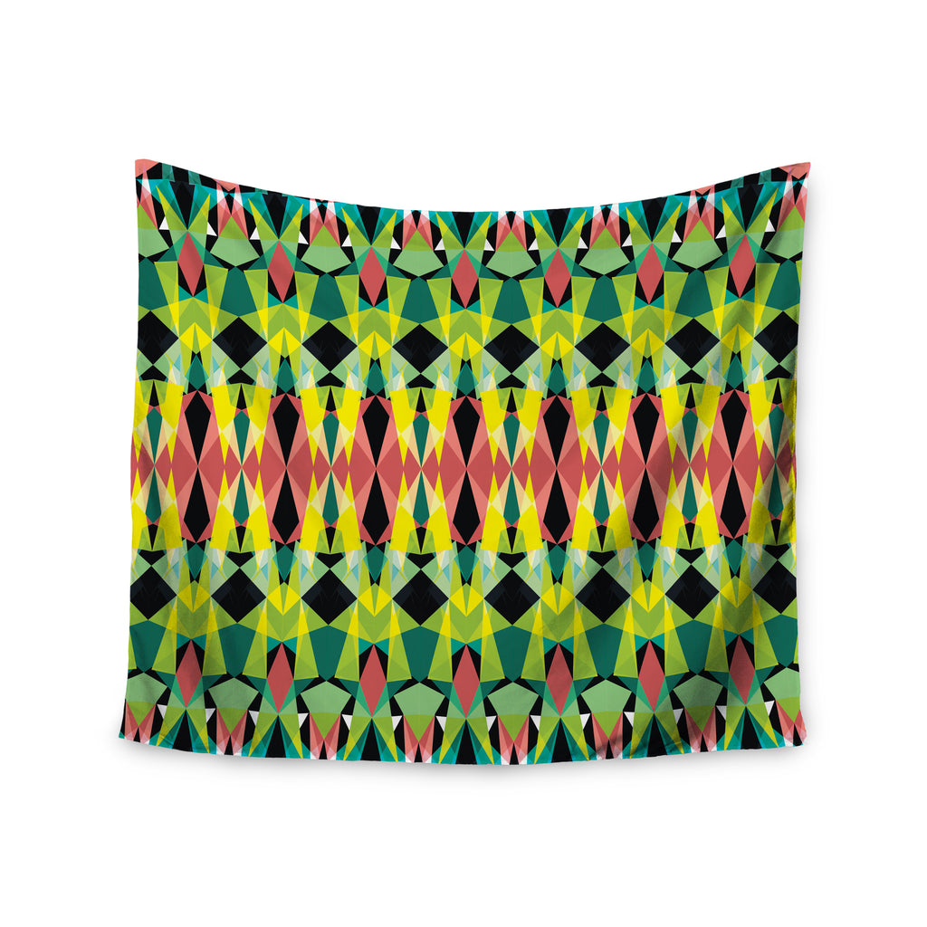 "Akwaflorell ""T-Vision"" Wall Tapestry - KESS InHouse  - 1"