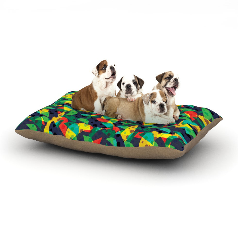 "Akwaflorell ""Fruit and Fun"" Dog Bed - KESS InHouse  - 1"