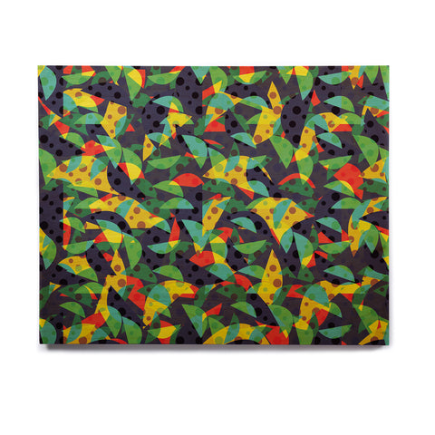 "Akwaflorell ""Fruit and Fun"" Birchwood Wall Art - KESS InHouse  - 1"