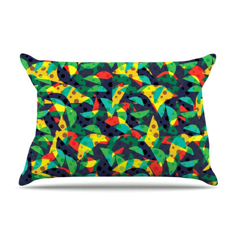 "Akwaflorell ""Fruit and Fun"" Pillow Sham - KESS InHouse"
