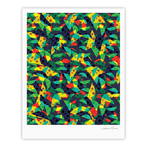 "Akwaflorell ""Fruit and Fun"" Fine Art Gallery Print - KESS InHouse"