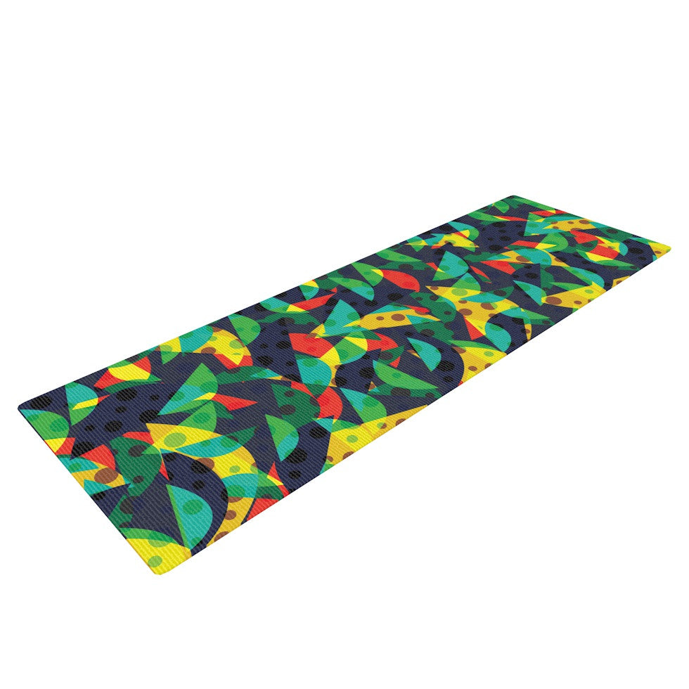 "Akwaflorell ""Fruit and Fun"" Yoga Mat - KESS InHouse  - 1"