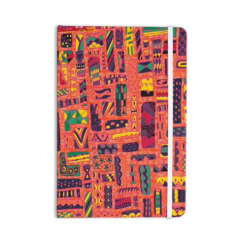 "Akwaflorell ""Squares"" Everything Notebook - KESS InHouse  - 1"