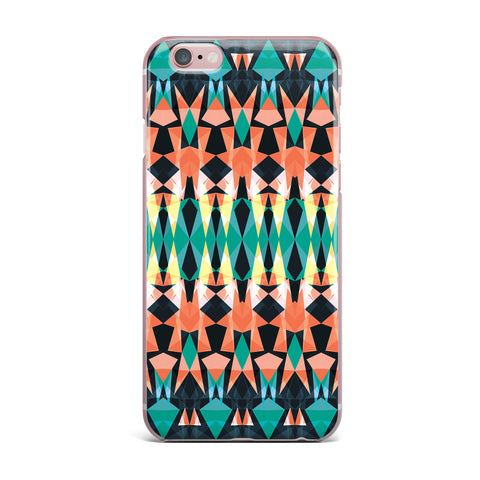 "Akwaflorell ""Triangle Visions"" iPhone Case - KESS InHouse"