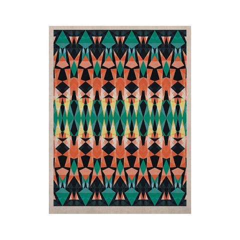 "Akwaflorell ""Triangle Visions"" KESS Naturals Canvas (Frame not Included) - KESS InHouse  - 1"