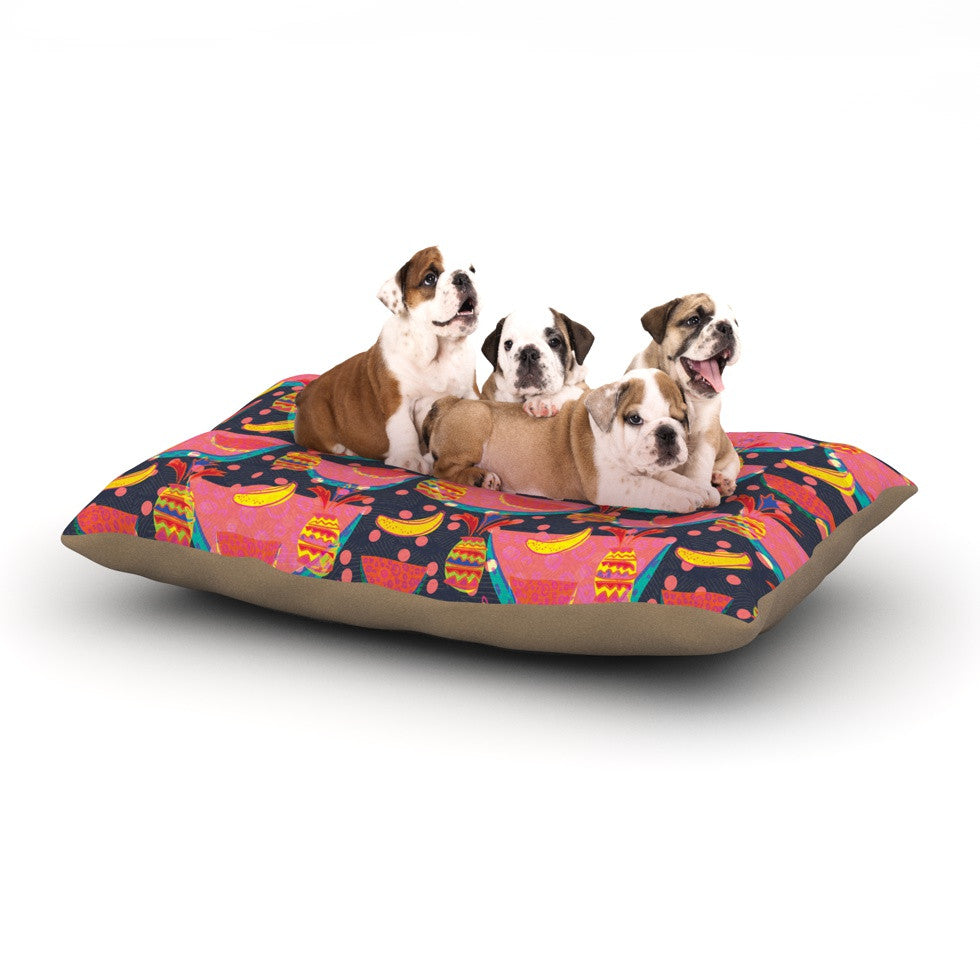 "Akwaflorell ""Yummy"" Dog Bed - KESS InHouse  - 1"