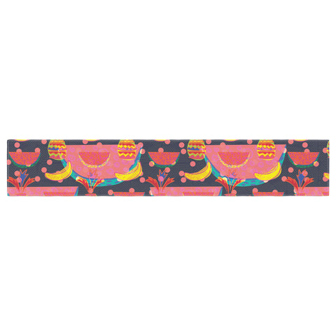 "Akwaflorell ""Yummy"" Table Runner - KESS InHouse  - 1"